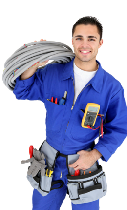 Electrician-man